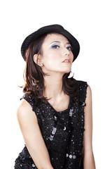 Gorgeous fashion woman