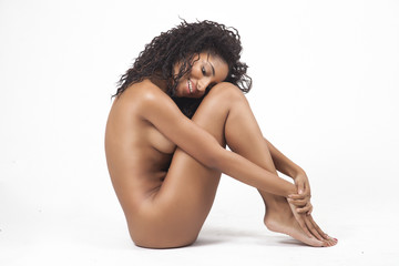 Beautiful Young Nude Multi-ethnic Female