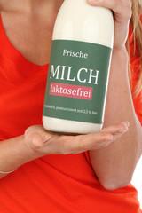 Milchflasche laktosefrei