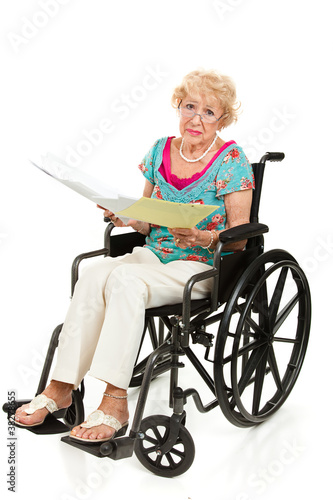 Disabled Senior - Medical Bills