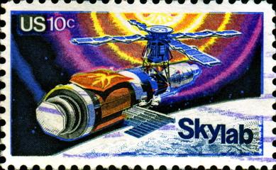 Skylab. 1973-1979. US Postage.