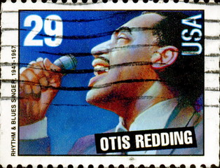 Otis Redding.1941-1967 US Postage.