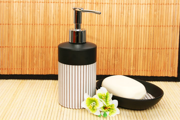 Soap dispensers and bar