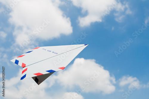 紙飛行機 - 38283627