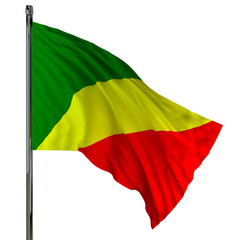 congo flag / flag of congo