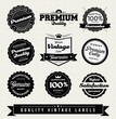 Vintage Style Premium Quality Labels and Stickers