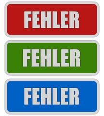 3 Sticker rgb oc FEHLER
