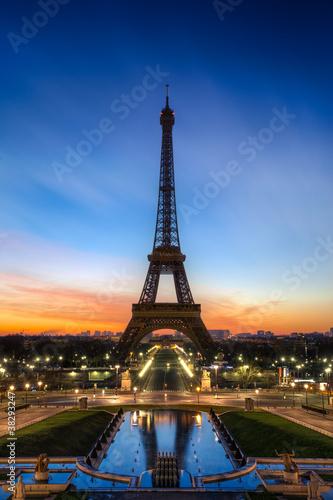 Fototapeta Tour Eiffel Paris France