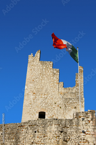 Castle of Arco in Italy - Garda Lake - Trento - Europe
