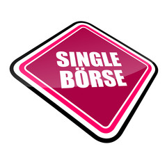 schild schräg v2 single-börse I