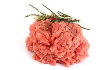 carne trittata con rosmarino