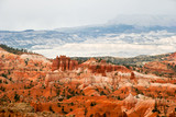 View from viewpoint of Bryce Canyon. Utah. USA poster