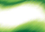 Fototapety Green halftone background