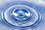 water drop closeup