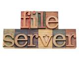 file server - conputer network concept