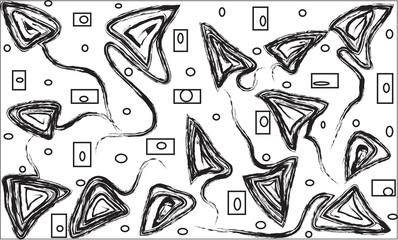 Krausens on a white background