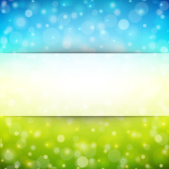 Abstract light vector background with place for text