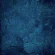 blue grunge wall