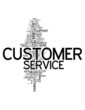"Word Cloud ""Customer Service"""