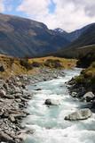 New Zealand - Mount Aspiring National Park poster