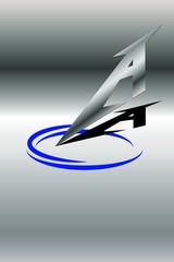Logo A Metall