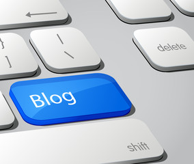 Blogging Keyboard Button