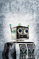 grunge robot