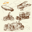 old times vehicles