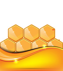 Honey vector illustration