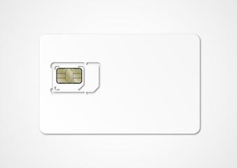 Carte SIM vierge