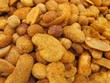 Spicy nuts, frutos secos picantes.