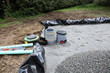 Installing Sand Filter Bed For Domestic Sewage