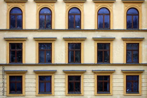 Prague facade