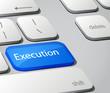 Execution keyboard key