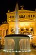 Leinwandbild Motiv Alte opera in Frankfurt