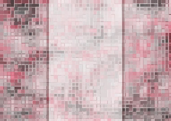 pink wall with space for text