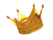 Golden Vector King Crown