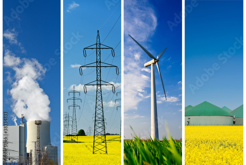 Energie Collage