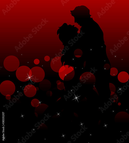 Romantic Couple Background