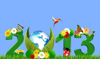 2013, the earth garden