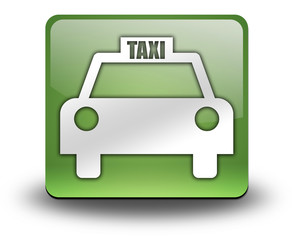 "Green 3D Effect Icon ""Taxi Cab"""