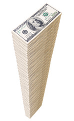 Column of U.S. dollars..