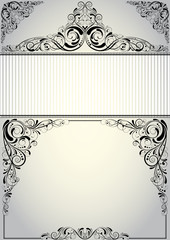 Frame background design