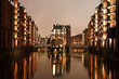 Wasserschlösschen in der Speicherstadt Hamburg