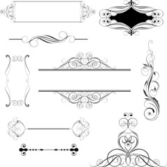 Set ornamental design