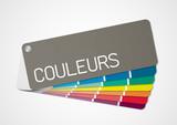 Fototapety Nuancier couleurs