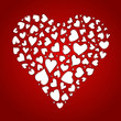 Herz aus Herzen