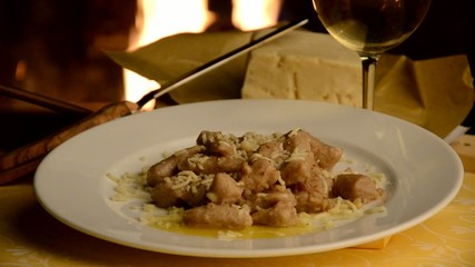 Gnocchi al formaggio Frant - Friuli