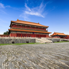beijing forbidden city building