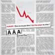 article de presse, crise, agence de notation